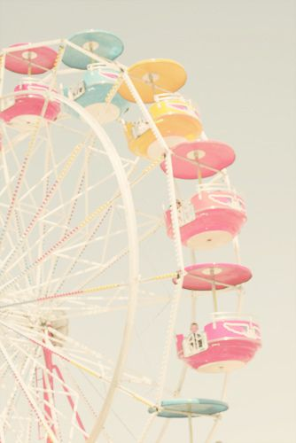 Something about this type of photo...carnival, fair, vintage, love