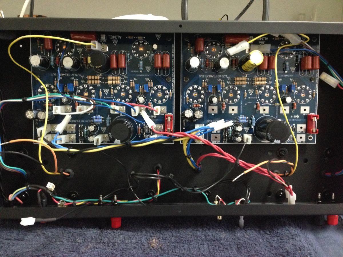 Placa Amplificador Valvulado 35w El84 Stereo Montada Eletrnica This Simple Schematic Shows A 140w Audio Power Amplifier Circuit By