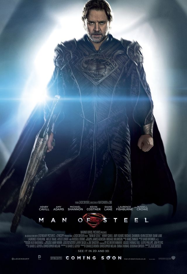New 'Man of Steel' Trailer & Posters Introduce Supervillain General Zod