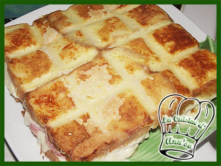 Croque tablette un norme croque monsieur recettes pinterest croque monsieur cuisine and - Tablette recette cuisine ...