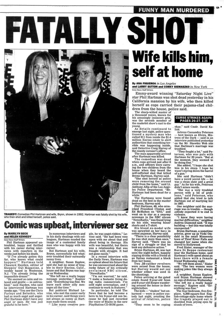 Image result for the killing of phil hartman