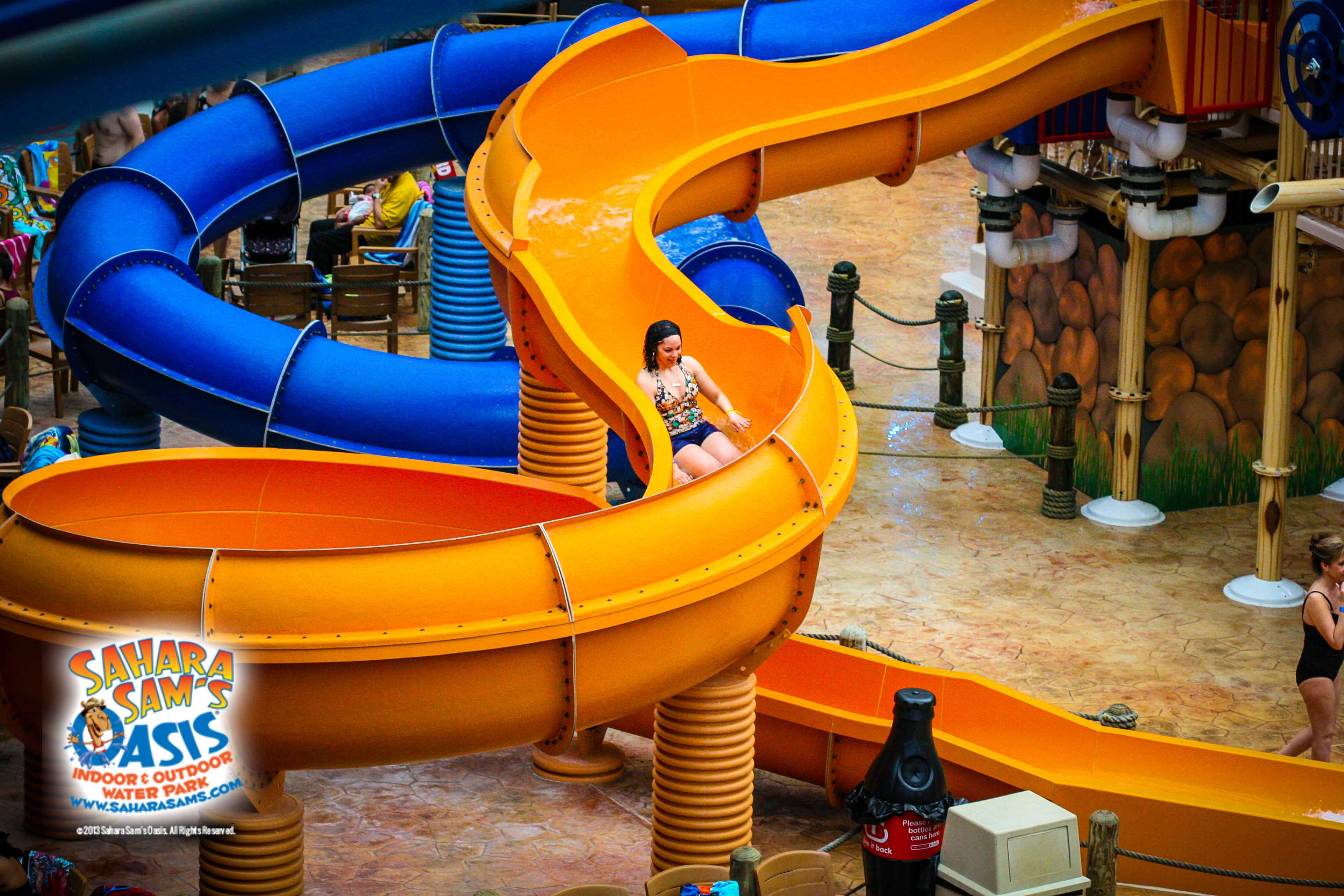 Tim Buk Tu Body Slide At Saharasams Indoor Waterpark