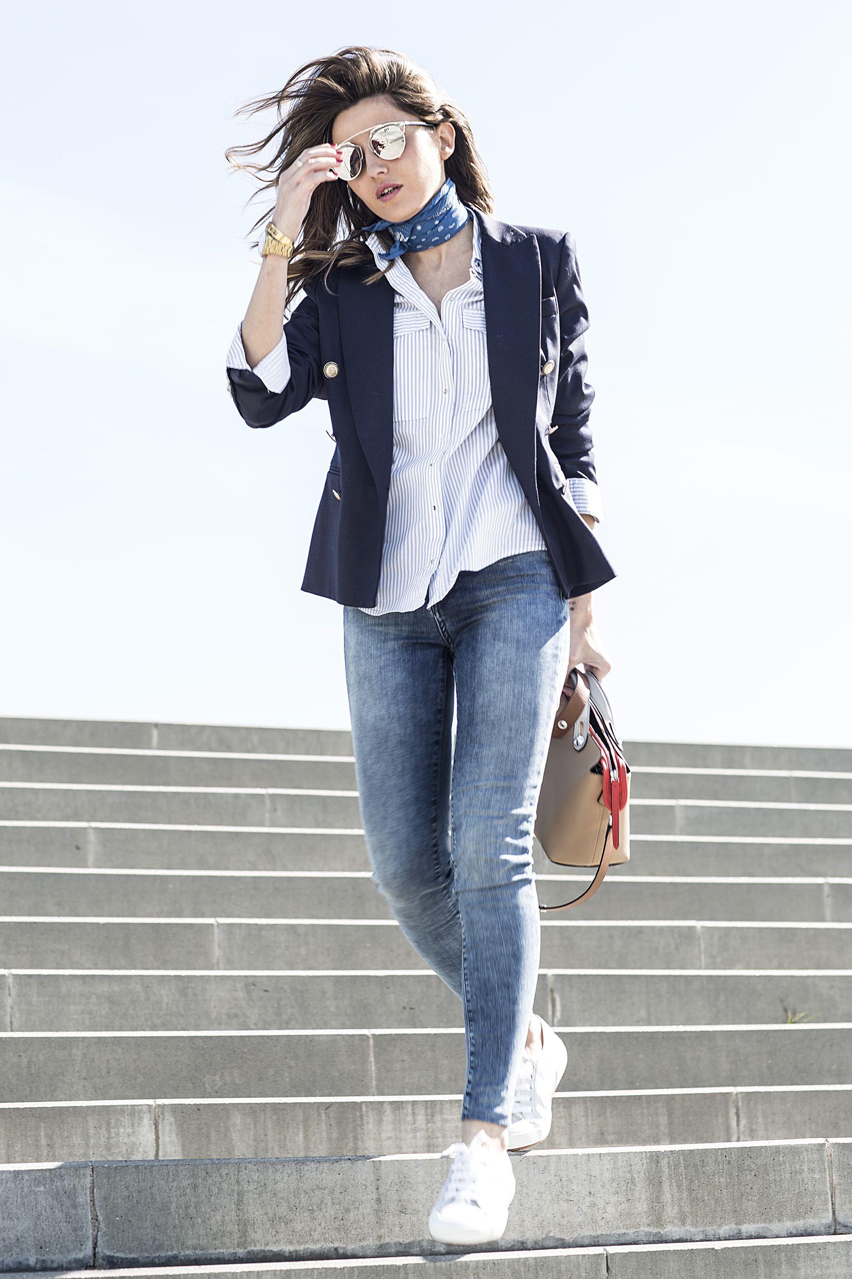 27532439e7c 2016 sneakers  Superga – Ulanka jeans  Guess blazer  Zara shirt  Zara (old)  bag  Fendi