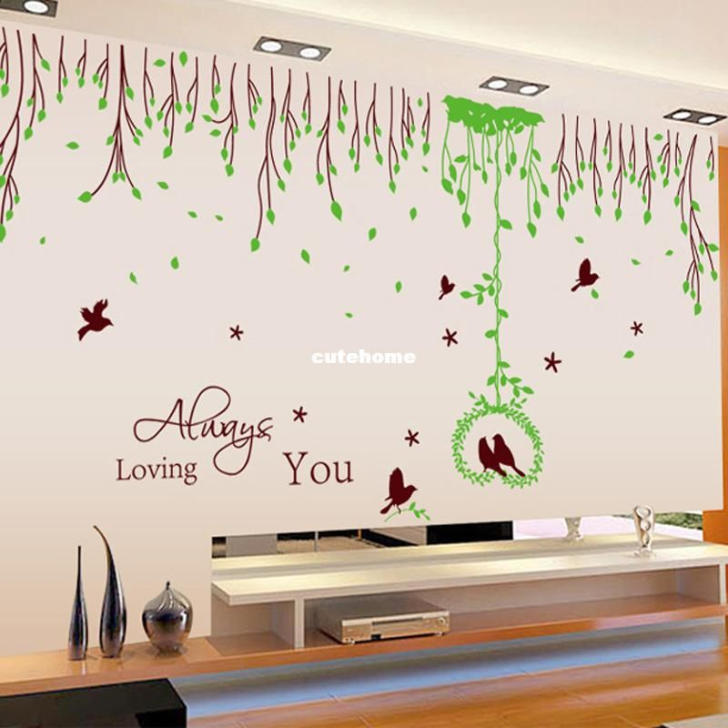 Living Room Wall Decals Attachment Wall Stickers Living Room