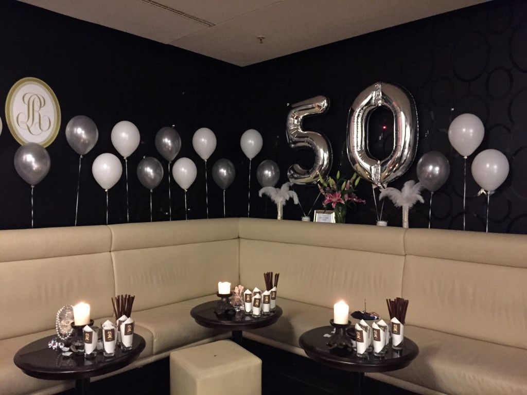 10 sch n tischdekoration zum 50 geburtstag deko pinterest. Black Bedroom Furniture Sets. Home Design Ideas