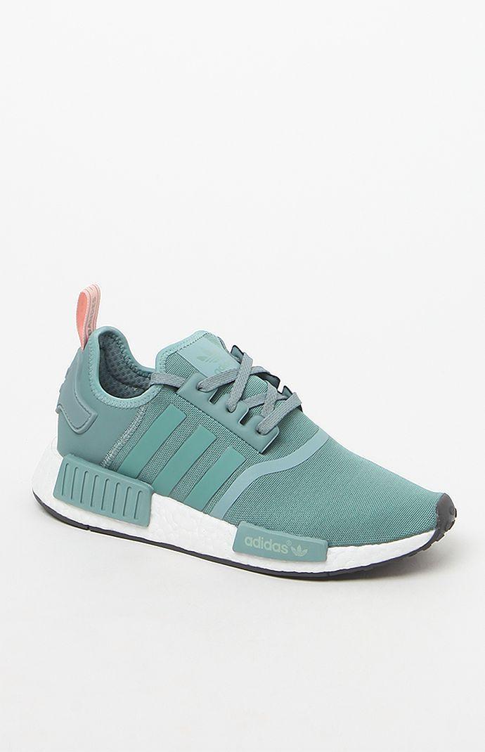 3460c5d328c25 Women s NMD R1 Blue Low-Top Sneakers. Women s NMD R1 Blue Low-Top Sneakers  Blue Adidas Shoes ...