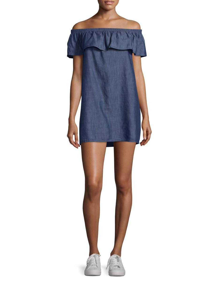 2110654bf8f Soft Joie Nilima Bandeau Cotton Dress
