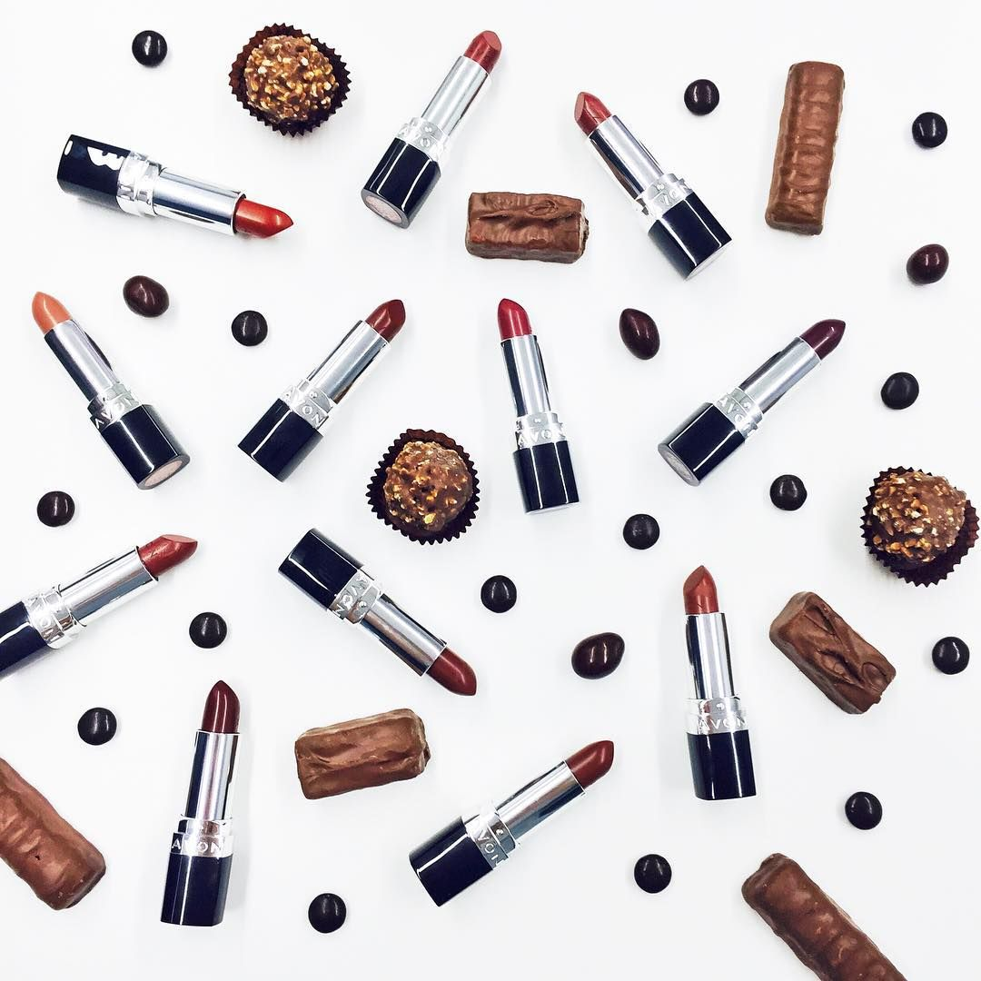 """""""Happy #NationalChocolateDay! We're celebrating with our fave  lipstick shades!"""""""