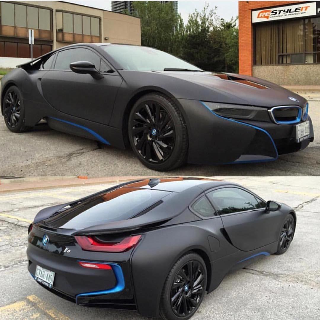 BMW I BMW I BMW Car SportsCar Supercar Black - Sports cars 5 letters