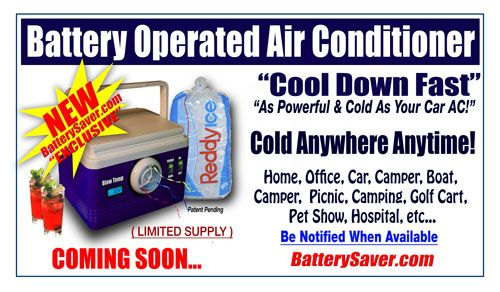 New Battery Operated Cooler Air Conditioner Best Camping