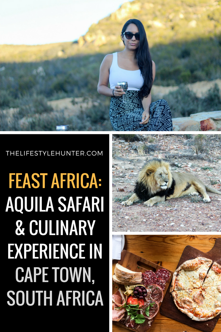 Aquila Sunset Safari + Culinary Experience with Feast