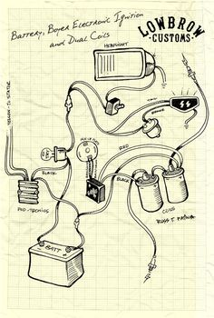 Motorcycle Electronic Ignition Wiring Diagram - Wiring Diagram