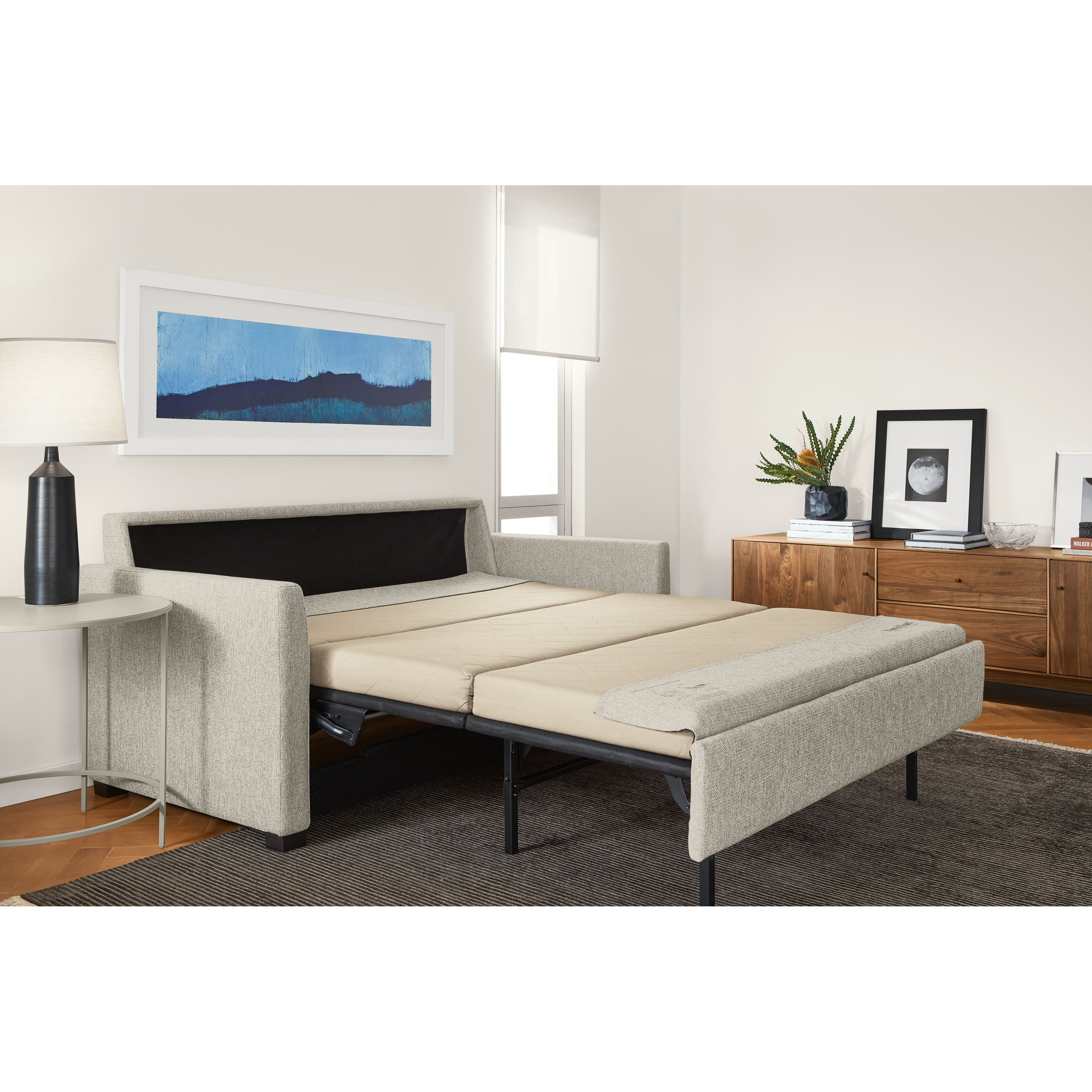 Berin Slope Arm Day & Night Sleeper Sofas With Chaise