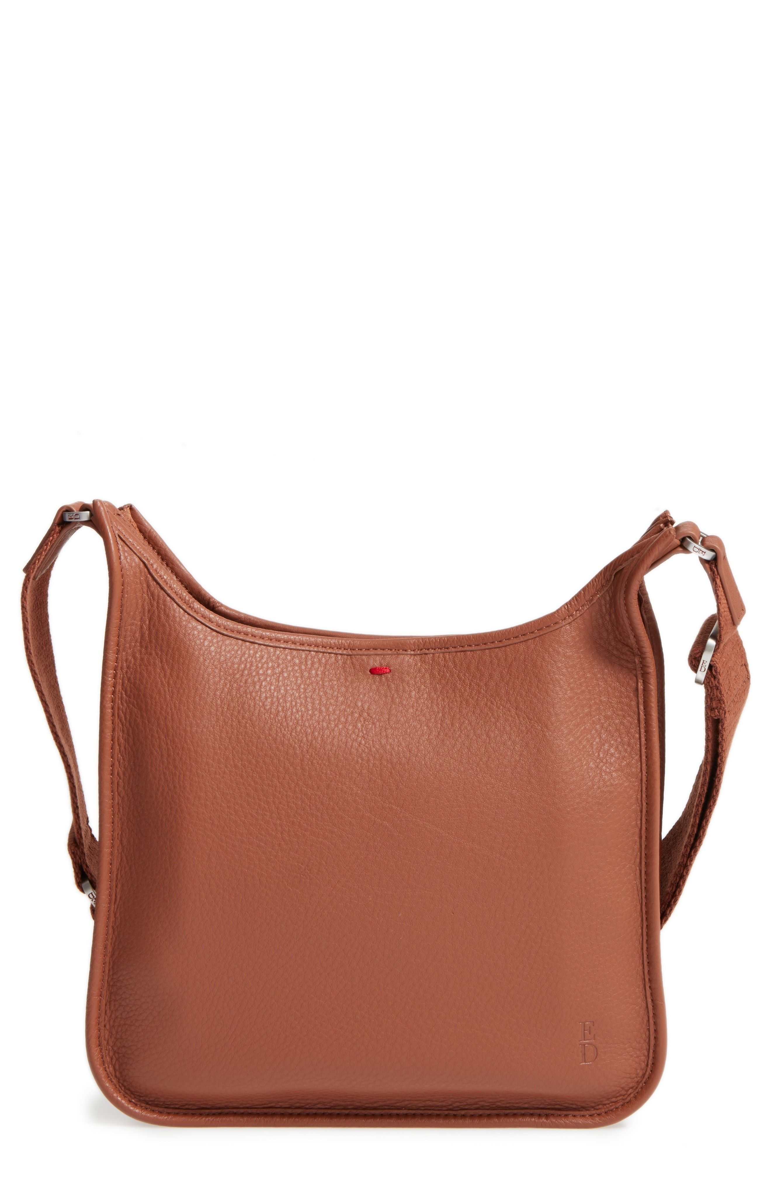 f5fe3e9e55a2 New ED Ellen DeGeneres Leather Crossbody Bag fashion online.    138   shop.seehandbags