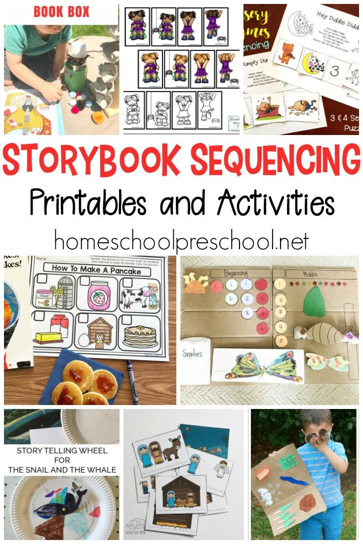 10 Story Sequencing Cards Printable Activities for ...