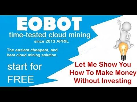 Secret Trick: How To Start Mining Bitcoin With EoBot For