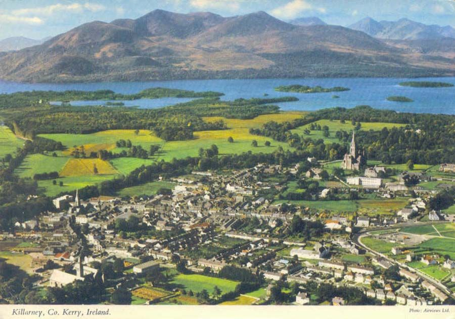 Ireland Lakes from Kenmare Road KillarneyCo Kerry Art Print A4 A3 A2 A1