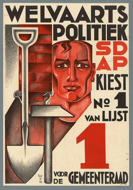 Huib de Ru. Welfare Politics. 1935