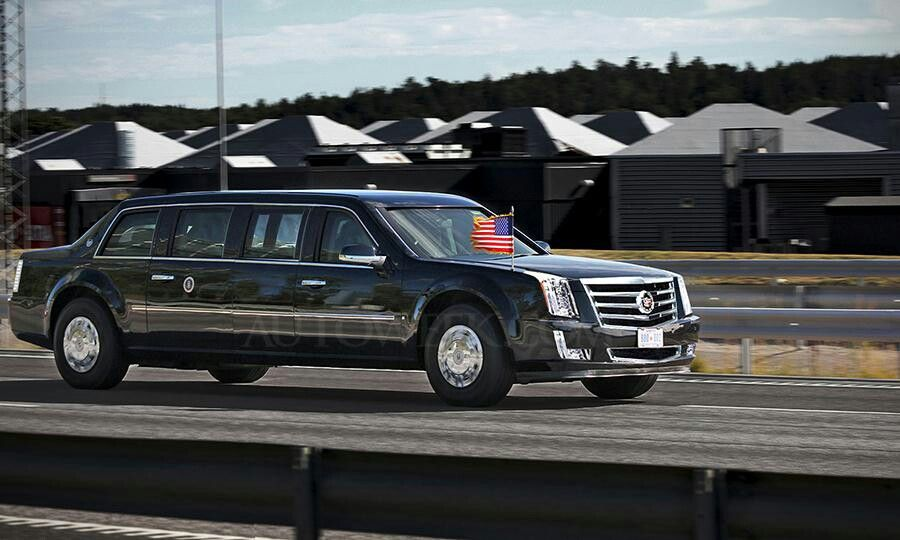 The is the all-new 2017 Presidential Limousine by Cadillac known as ...