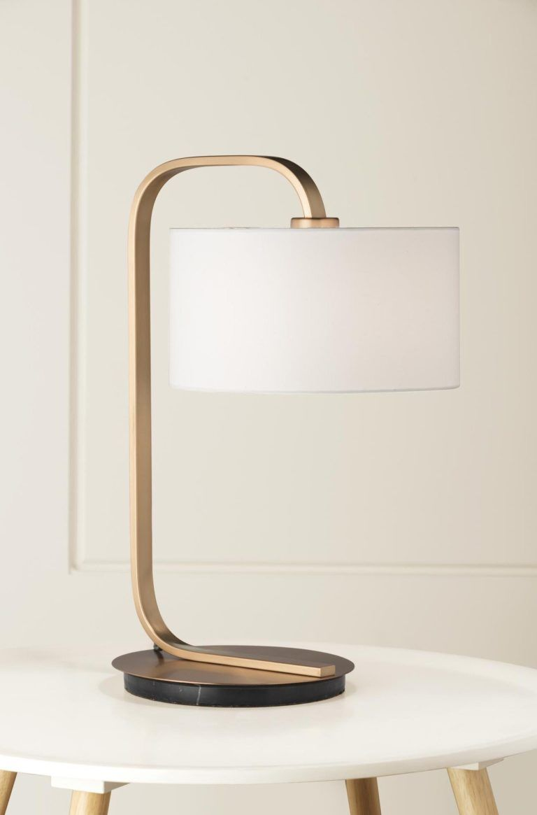 For The Love Of Hygge 6 Unexpected Spots To Place A Lamp In Your Home Table Lamp Lamp Metal Table Lamps