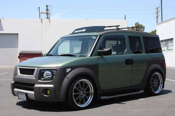 Honda Element Wheels 2004 Honda Element Ex Galapagos Green Gg