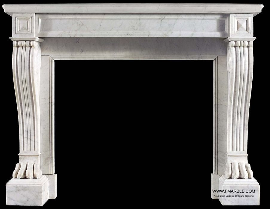contemporary simple flat design marble fireplace for UK,Ireland,travertine fireplace  mantel,sandstone - Contemporary Simple Flat Design Marble Fireplace For UK,Ireland