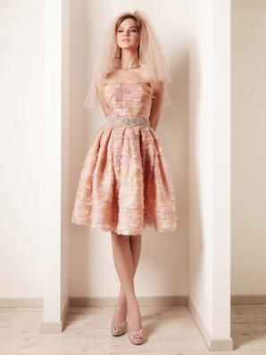 1000  images about Pink Wedding Dresses on Pinterest - Blush pink ...