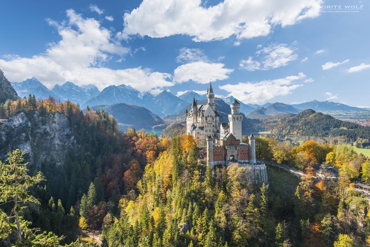 The Best View Of Schloss Neuschwanstein Travel Through Europe Schloss Neuschwanstein Travel