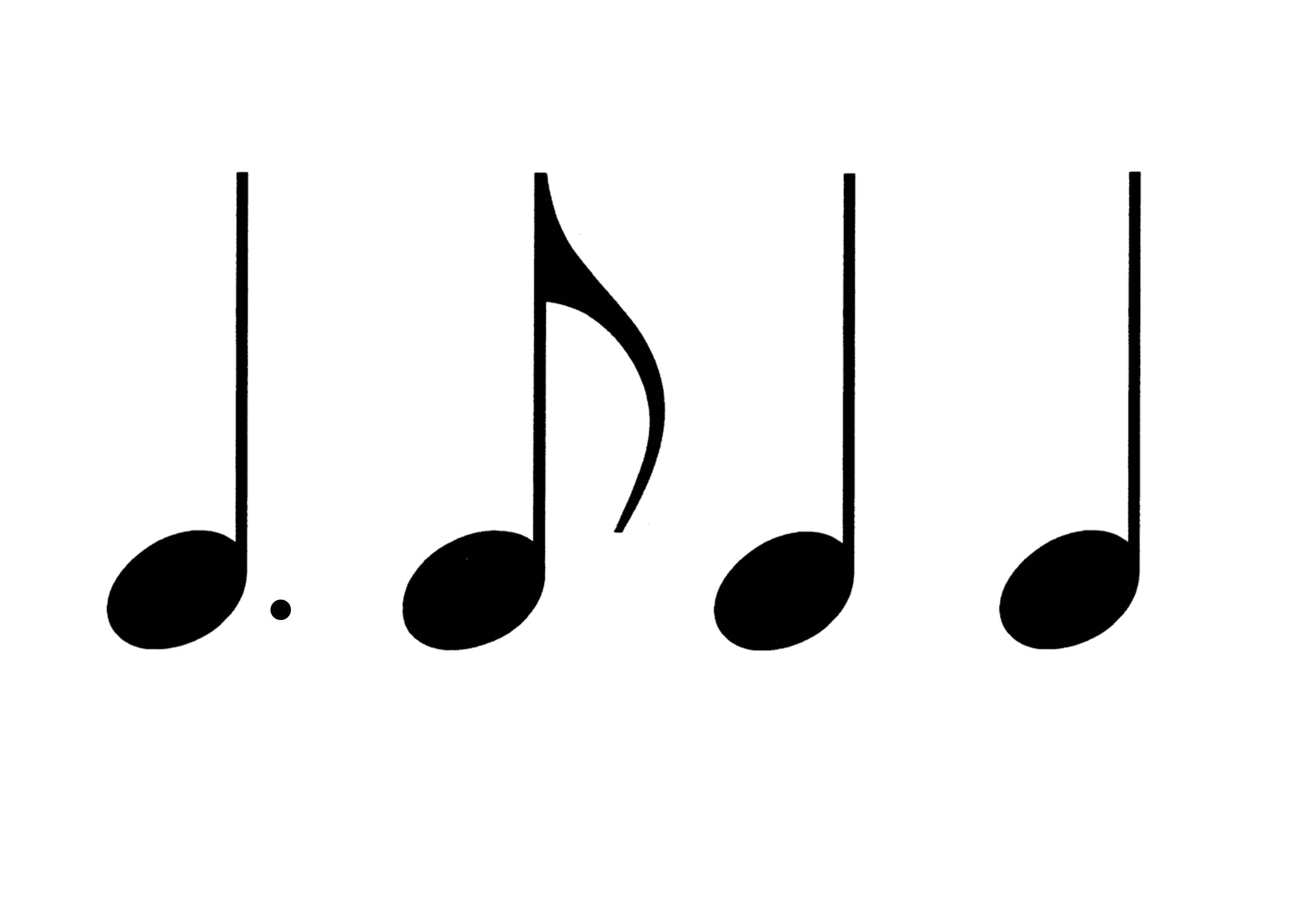 20 Rhythmusbausteine zum Ausdrucken | Kostenlos, Musik und ...