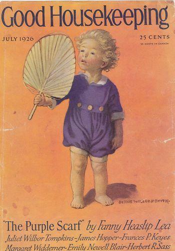 July 1926 Good Housekeeping Magazine Cover Only Print Jessie Wilcox Smith | eBay $9.99