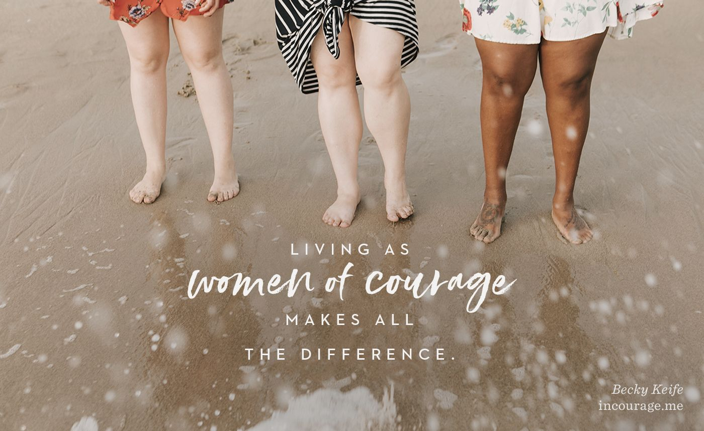 A Call To Courage And A Community Survey