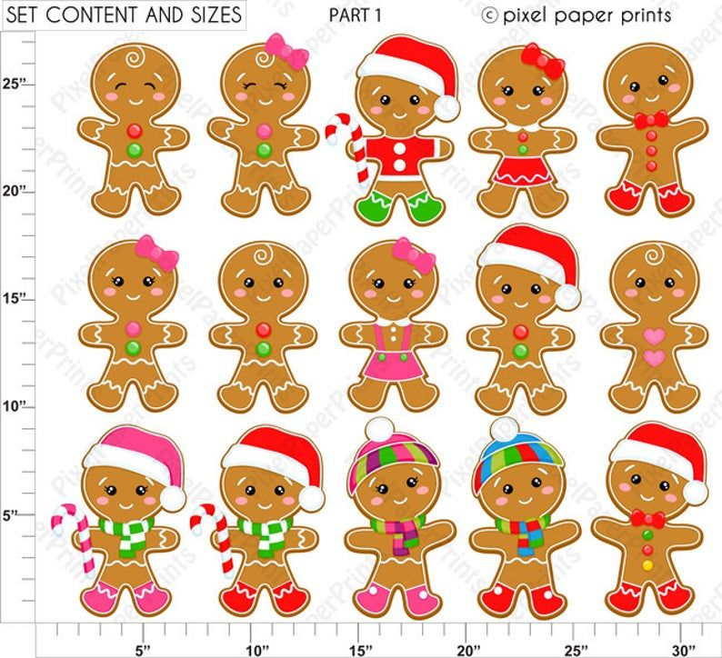 Gingerbread Wonderland Christmas clipart Clip Art and ...