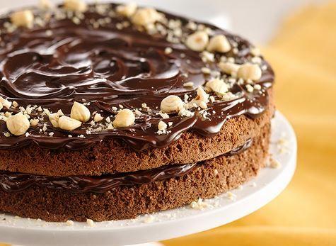 Torta al cioccolato e nocciole - checucino.it