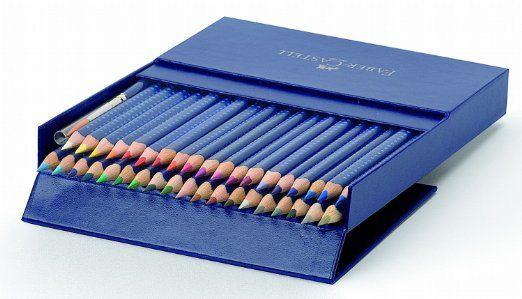 Faber-Castell ART GRIP Aquarelle Crayons de couleur 38 ...