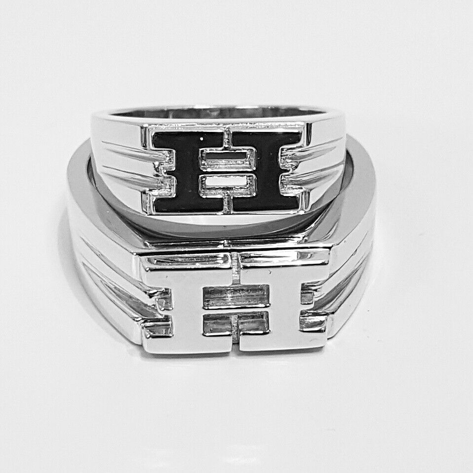 H ring's (signet style) by Hart of London
