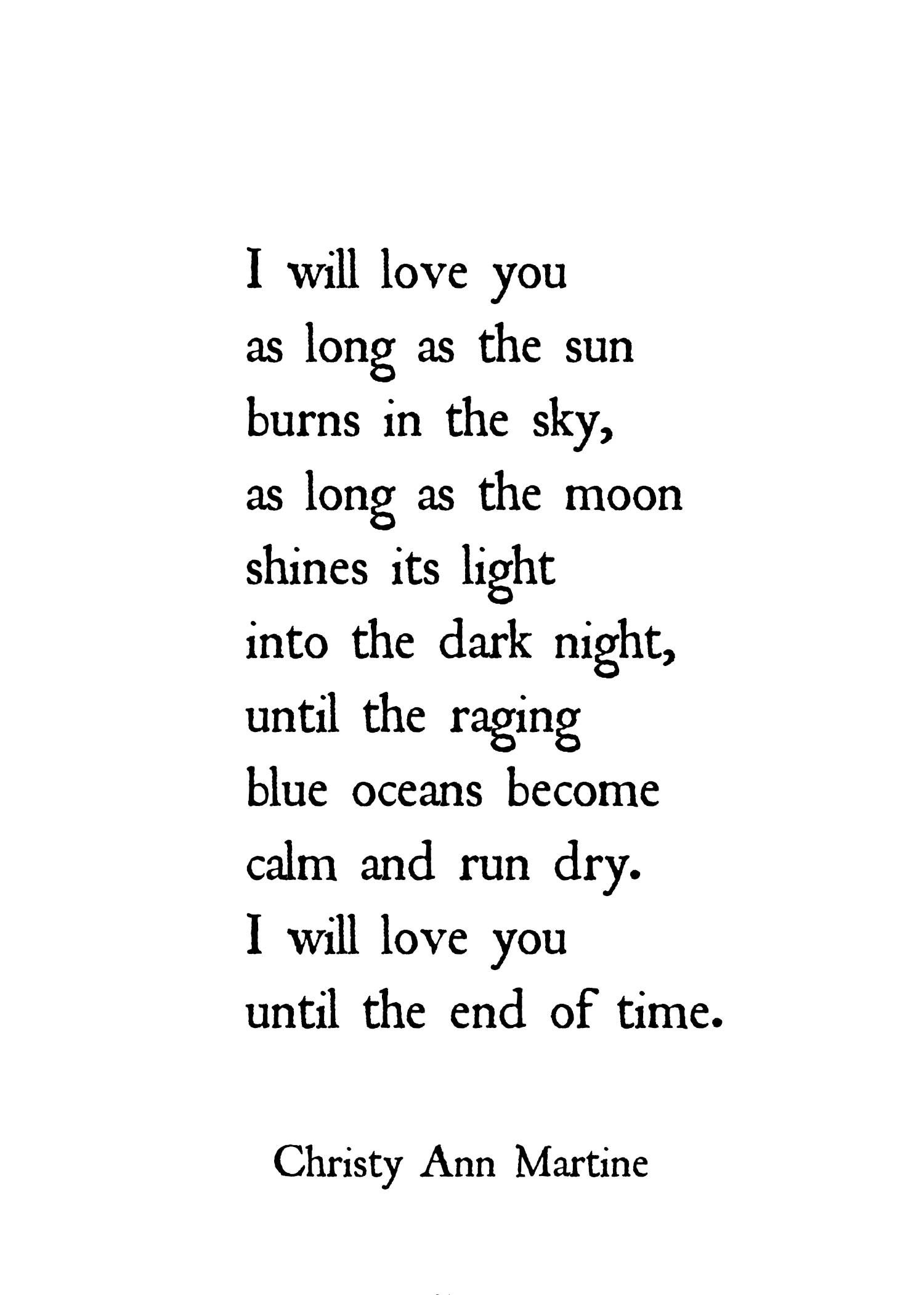 Pin By Kasey Ortiz On S E A S I D E V I L L A G E Romantic Love Poems Distance Love Quotes Love Yourself Quotes