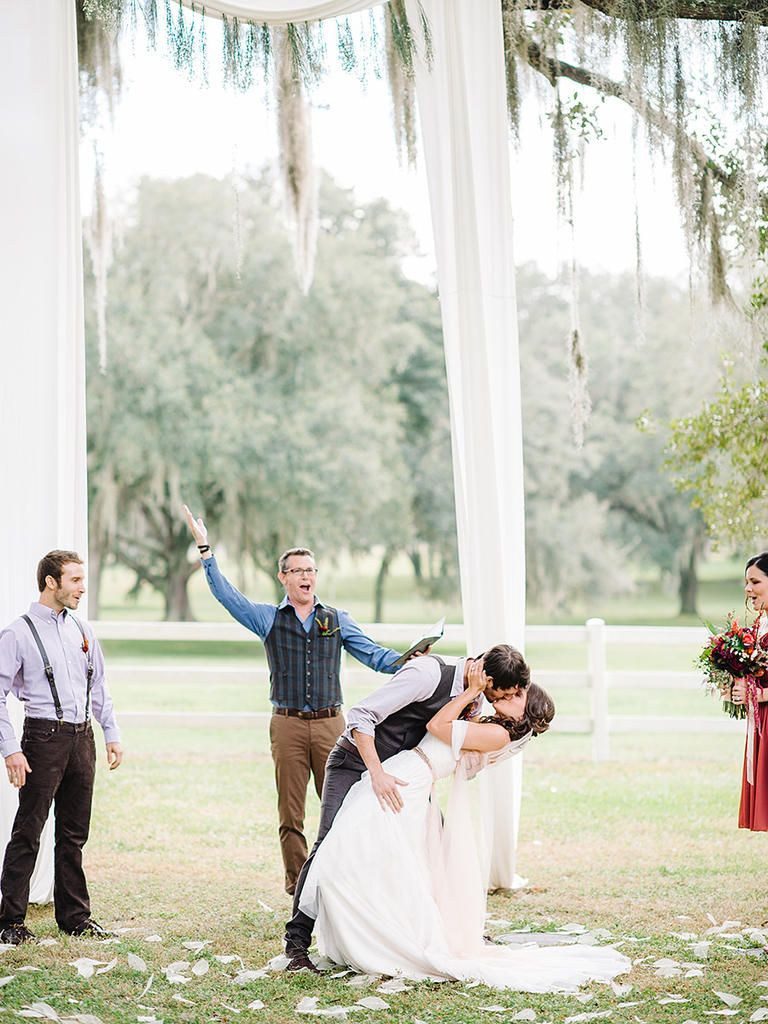 Simple Draped Ivory Fabric Arch For An Outdoor Wedding · Outdoor Wedding  ArchesDiy Outdoor WeddingsWedding ...