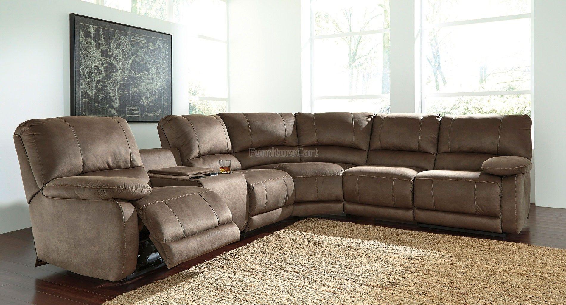 seamus taupe modular power reclining sectional big family think rh pinterest com