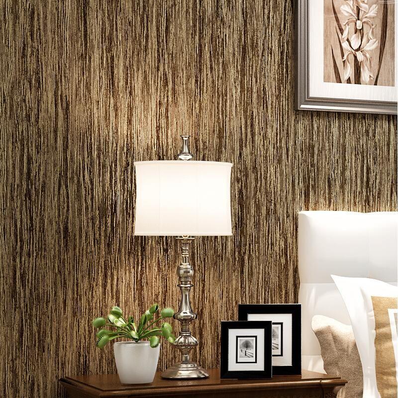 Aliexpress Comprar Color sólido moderna llanura fondo de madera - tapices modernos