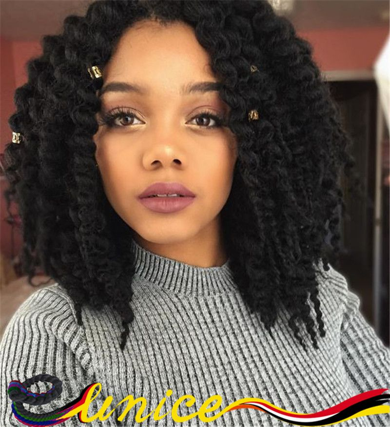 Free Shipping Short Length Havana Mambo Twist Crochet Braid Hair