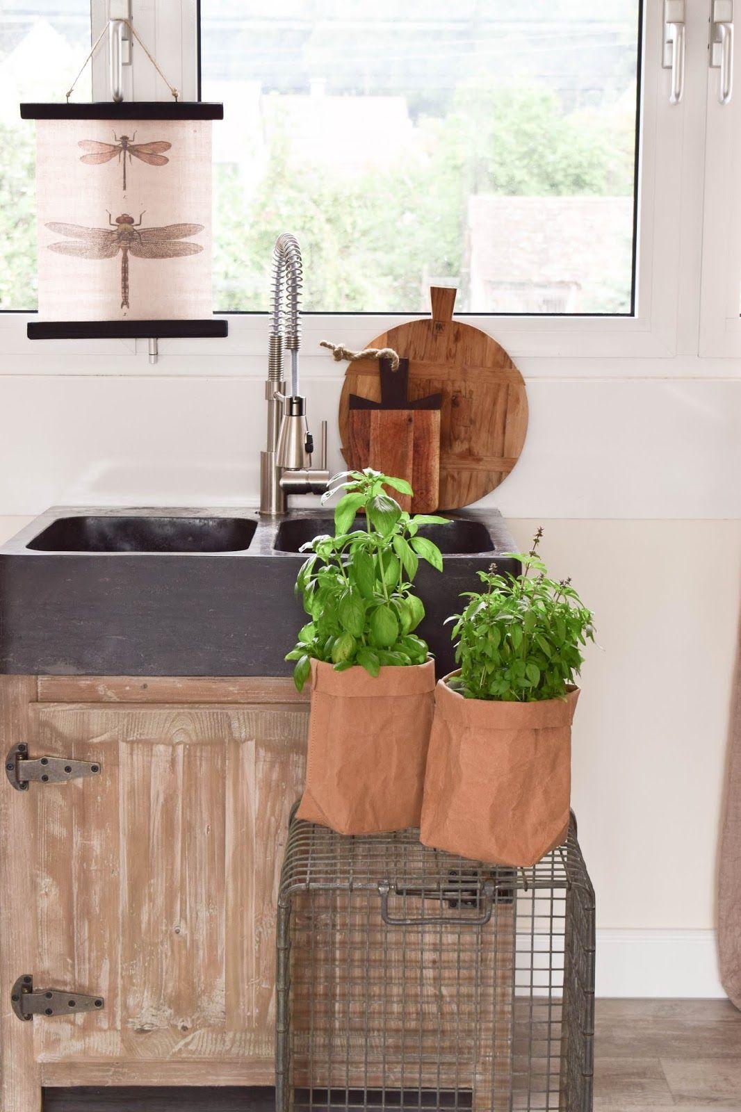 Deko Küche Kräuter | Küchenkräuter Fensterbank