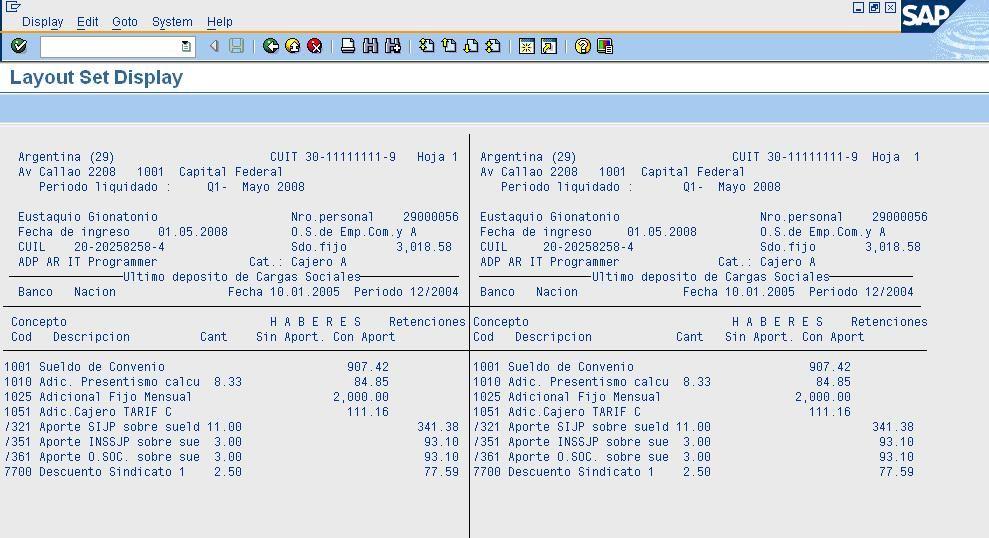 Types of WageTypes in SAP sap hr payroll SAP HR HCM Training - hr report