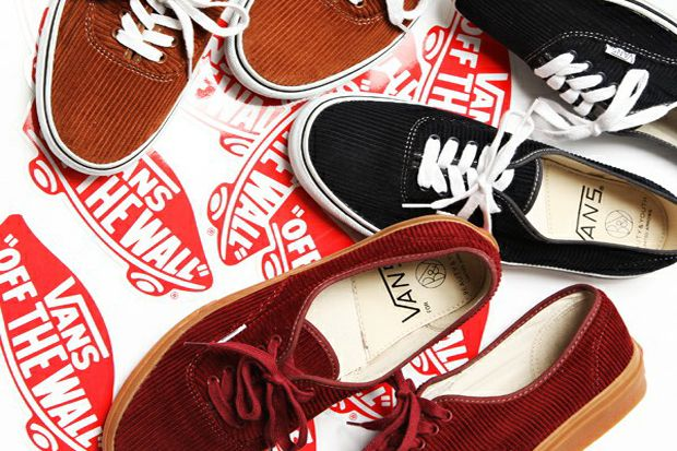 Beauty \u0026 Youth x Vans Authentic Cord