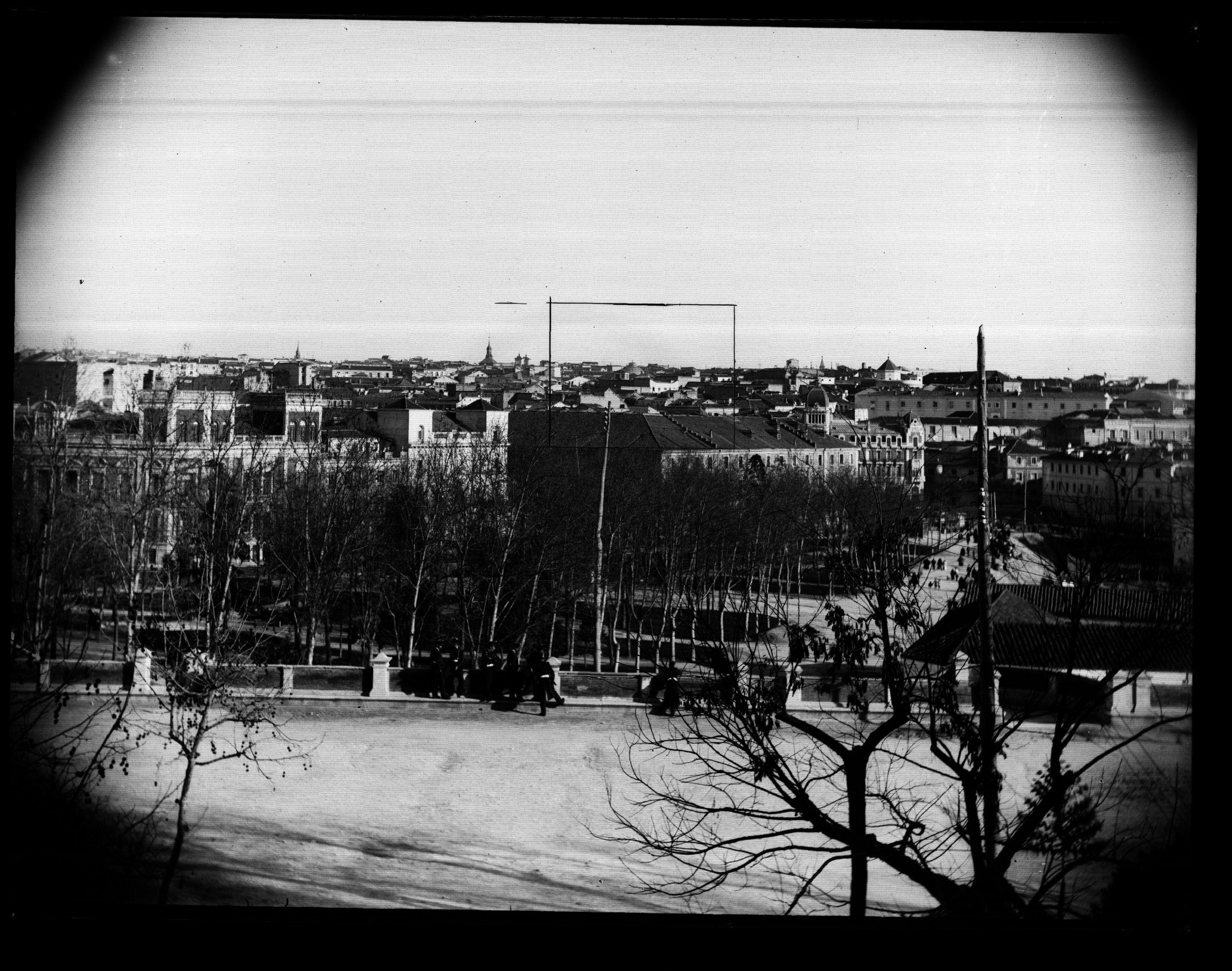 Vistas de Madrid desde el Cuartel de la Montaña
