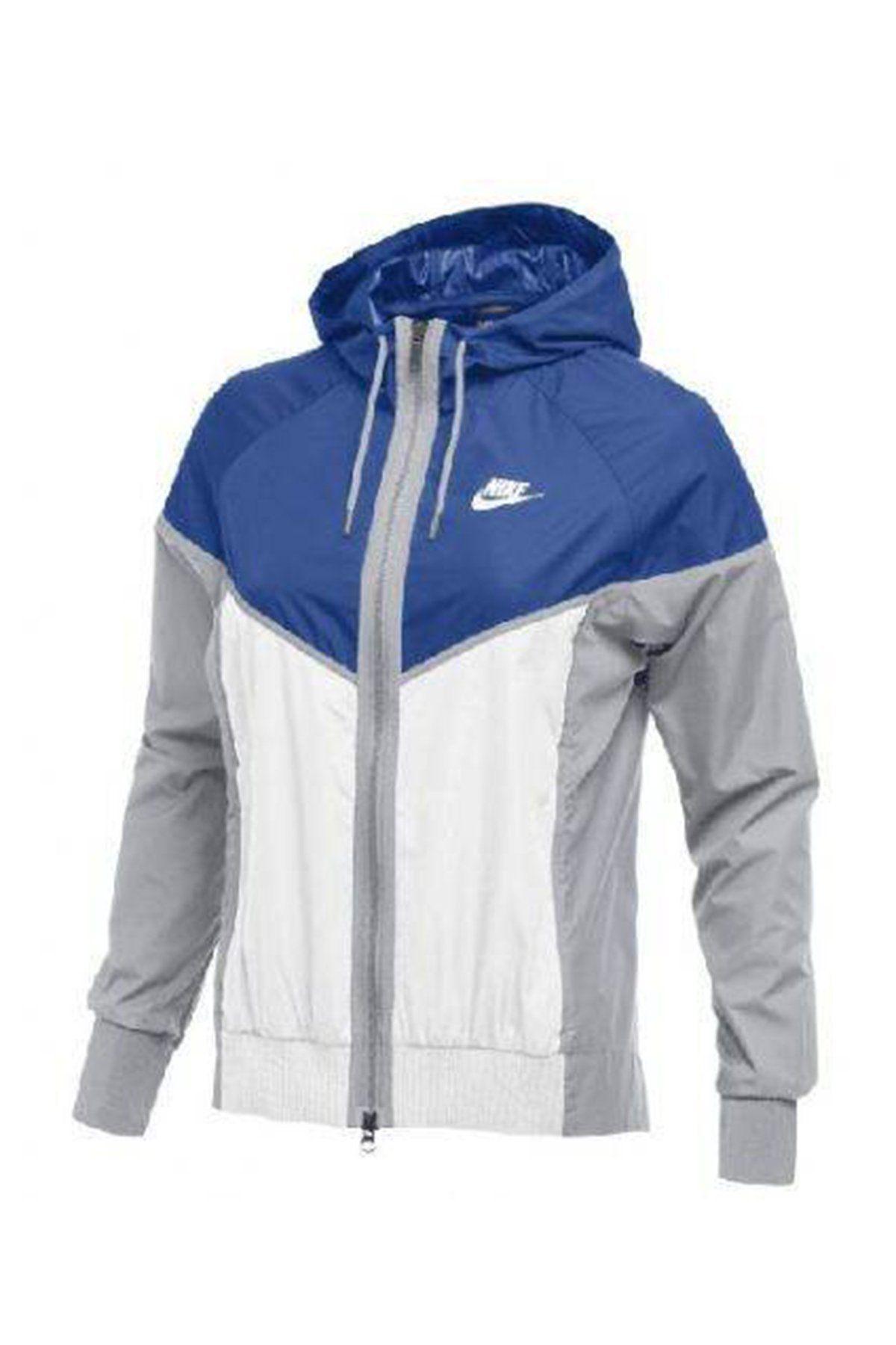 Nike Women's NSW Windrunner Jacket 898725 RoyalWhiteWolf