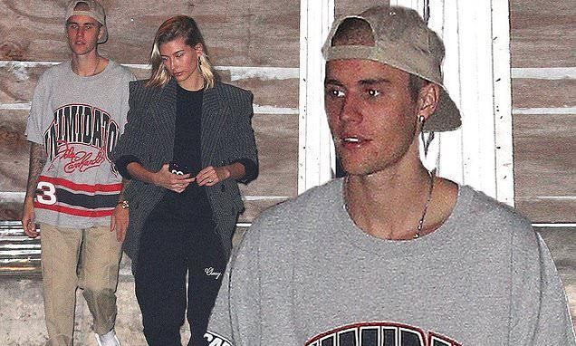 3c8754a51 Justin Bieber and Hailey Baldwin Visit a CHURCH On Halloween!  #HaileyBaldwin, #Halloween, #JustinBieber