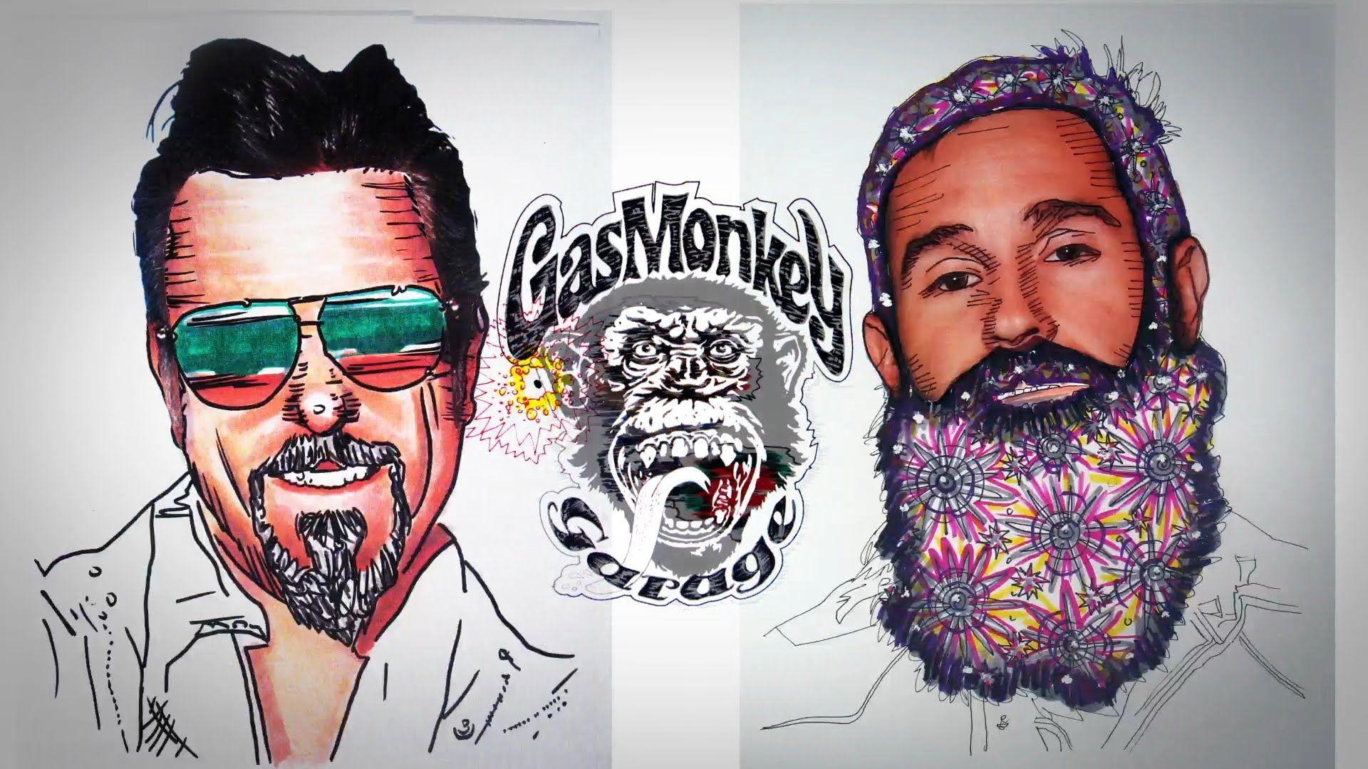 Gas Monkey Get Animated Gas Monkey Mix Gas Monkey Animation