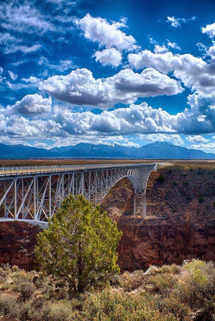 Rio Grande Gorge Bridge New Mexico