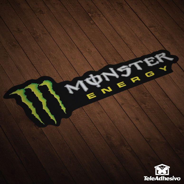 Aufkleber Monster Aufkleber Surf Logo Monster Stickers