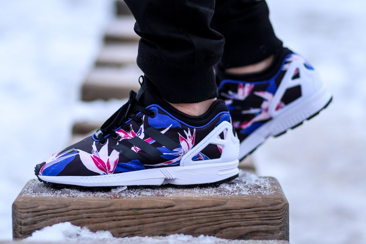 "adidas ZX Flux NPS ""Hawaiian Floral"" Pack (Bold Blue)"